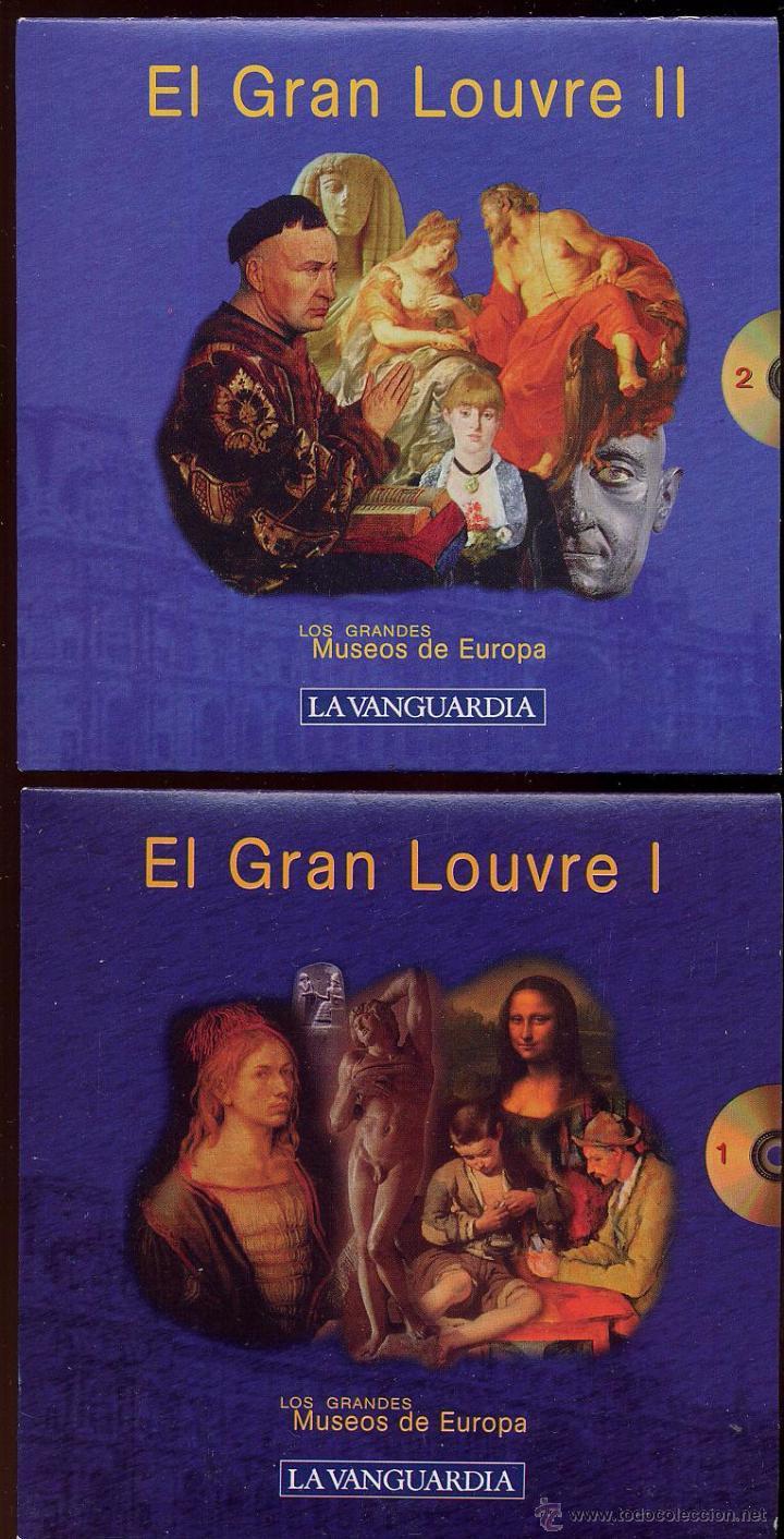 Videojuegos y Consolas: 14 CDROMs coleccion LOS GRANDES MUSEOS DE EUROPA de LA VANGUARDIA - Foto 4 - 49965028