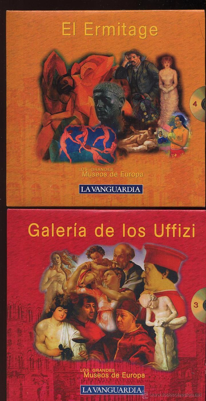 Videojuegos y Consolas: 14 CDROMs coleccion LOS GRANDES MUSEOS DE EUROPA de LA VANGUARDIA - Foto 5 - 49965028