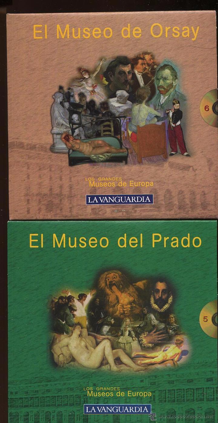 Videojuegos y Consolas: 14 CDROMs coleccion LOS GRANDES MUSEOS DE EUROPA de LA VANGUARDIA - Foto 6 - 49965028