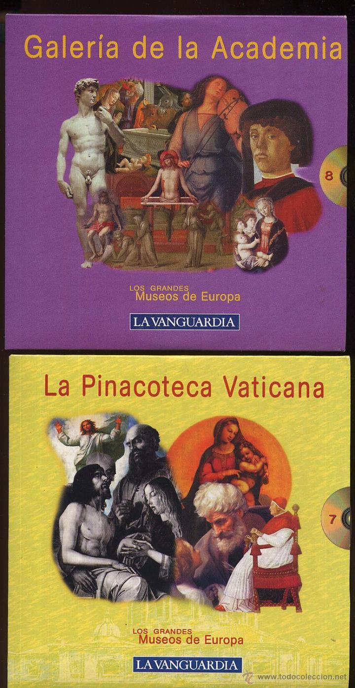 Videojuegos y Consolas: 14 CDROMs coleccion LOS GRANDES MUSEOS DE EUROPA de LA VANGUARDIA - Foto 7 - 49965028