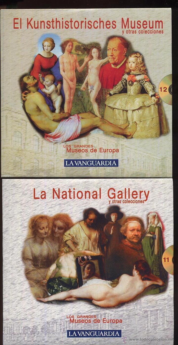 Videojuegos y Consolas: 14 CDROMs coleccion LOS GRANDES MUSEOS DE EUROPA de LA VANGUARDIA - Foto 9 - 49965028