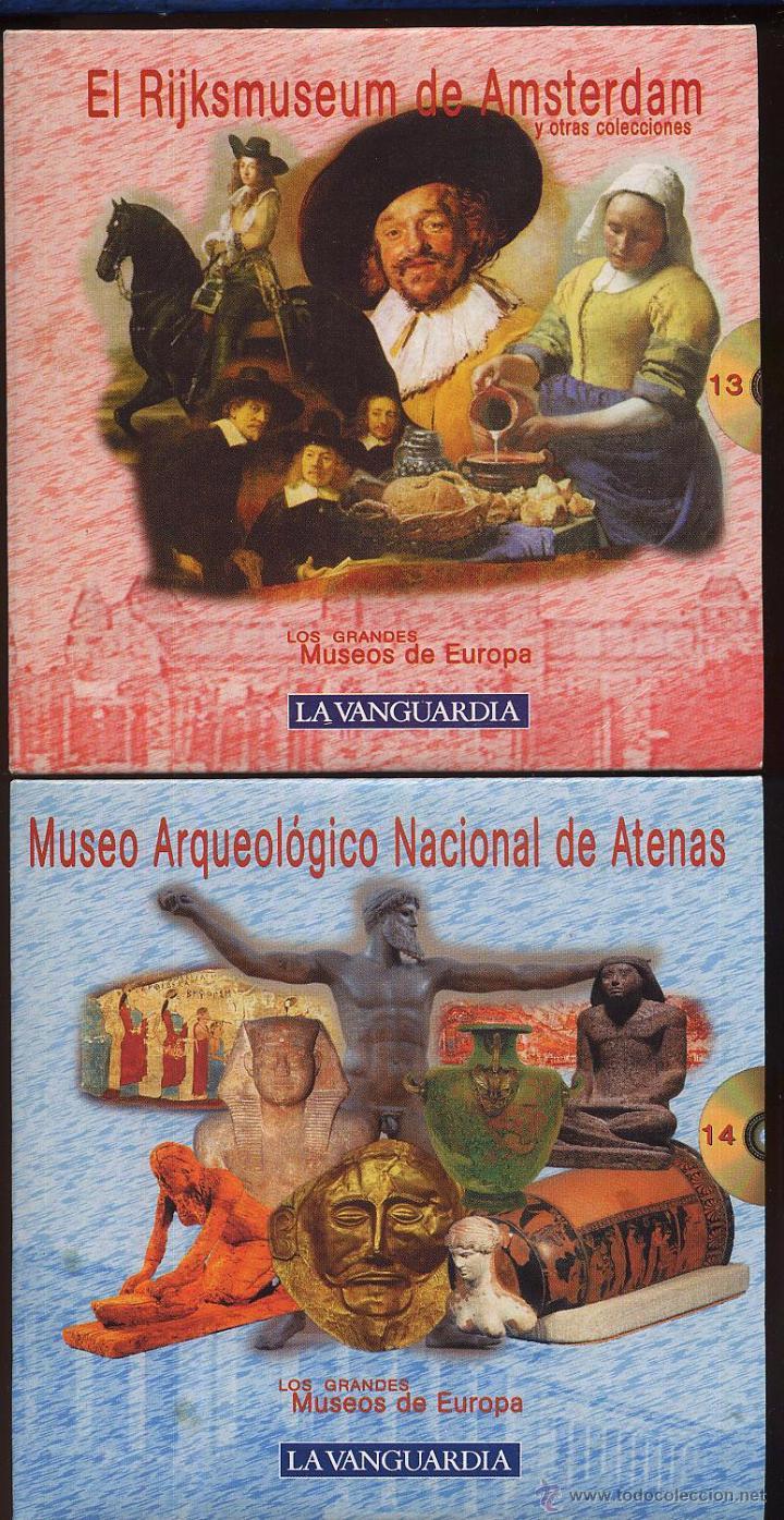 Videojuegos y Consolas: 14 CDROMs coleccion LOS GRANDES MUSEOS DE EUROPA de LA VANGUARDIA - Foto 10 - 49965028