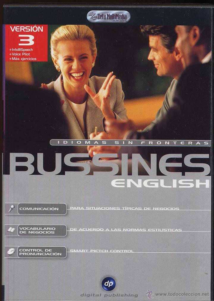 CDROM IDIOMAS SIN FRONTERAS BUSSINES ENGLISH (Juguetes - Videojuegos y Consolas - PC)