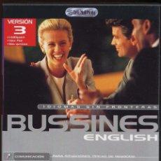 Videojuegos y Consolas: CDROM IDIOMAS SIN FRONTERAS BUSSINES ENGLISH ---(REF M1 E1). Lote 49965937