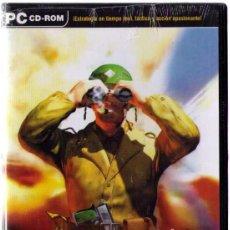 Videojuegos y Consolas: JUEGO PC WAR COMMANDER RANGERS EN PRIMERA LINEA, NUEVO SIN DESPRECINTAR. Lote 50046189