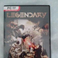 Videojuegos y Consolas: LEGENDARY: THE BOX (JUEGO PC DVD-ROM) EDICIÓN ESPAÑOLA. Lote 50054361