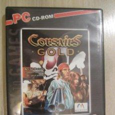 Videojuegos y Consolas: JUEGO PC CORSAIRS GOLD. Lote 50064049