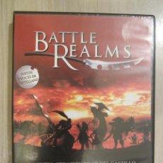Videojuegos y Consolas: JUEGO PC BATTLE REALMS. Lote 50064384