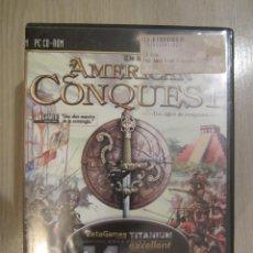 Videojuegos y Consolas: JUEGO PC AMERICAN CONQUEST. Lote 50064721