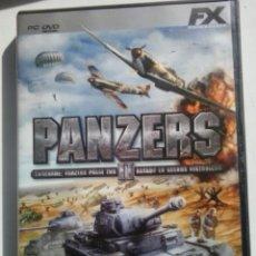 Videojuegos y Consolas: JUEGO PC- PANZERS II. Lote 50067123
