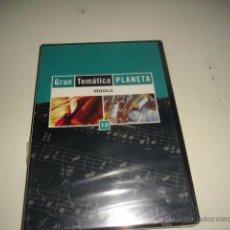 Videojuegos y Consolas: CD-ROM GRAN TEMATICA PLANETA MUSICA 12 NUEVO PRECINTADO CAJA-18. Lote 50130770