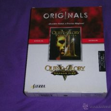 Videogiochi e Consoli: QUEST FOR GLORY 5 - PC - EDICION ORIGINAL DE CAJA DE CARTON - VERSION INGLESA Y MANUAL EN CASTELLANO. Lote 50171640