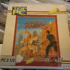 Videojuegos y Consolas: INTERNATIONAL NINJA RABBITS JUEGO PC DISQUETTE 3 1/2 . Lote 50190382