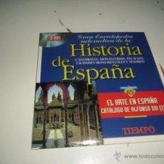 Videojuegos y Consolas: CD ROM HISTORIA DE ESPAÑA VOLUMEN 18 EL ARTE EN ESPAÑA CATALOGO DE ALFONSO XIII 2 . Lote 50227905