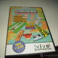 Videojuegos y Consolas: COLECCION WEB IMPRESCINDIBLES PARA TU WEB PC. Lote 50228318