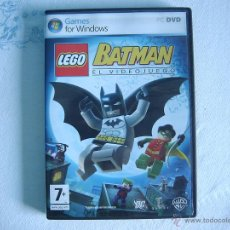 Videojuegos y Consolas: LEGO BATMAN. VIDEOJUEGO PARA PC. Lote 50273694