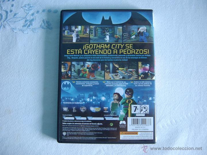 Videojuegos y Consolas: Lego Batman. Videojuego para PC - Foto 3 - 50273694