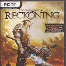 Videojuegos y Consolas: KINGDOMS OF AMALUR RECKONING. EA. Lote 50403054