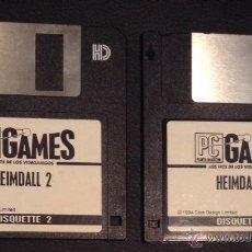 Videojuegos y Consolas: JUEGO DE ORDENADOR PC HEIMDALL 2 DISQUETTE 3,5. Lote 50675427