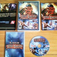 Videojuegos y Consolas: JUEGO PC 'JADE EMPIRE, SPECIAL EDITION'.. Lote 50867846