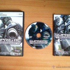 Videojuegos y Consolas: JUEGO PC 'SUPREME COMMANDER', TOTALMENTE EN CASTELLANO.. Lote 50903799