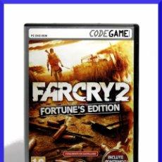 Videojuegos y Consolas: FARCRY 2 FORTUNES EDITION / JUEGO PARA PC / JUEGO EN CASTELLANO. Lote 51120679