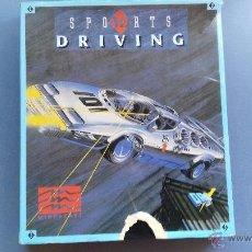 Jeux Vidéo et Consoles: JUEGO PARA PC ANTIGUO DIKETTE 5/14 DRIVING . Lote 51227185