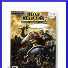 Videojuegos y Consolas: FINAL CONQUEST / JUEGO PARA PC / JUEGO EN CASTELLANO / NUEVO Y PRECINTADO. Lote 33067524