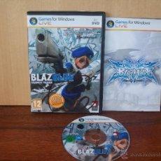 Videojuegos y Consolas: BLAZ BLUE - CALAMITY TRIGGER - JUEGO PC MANUAL EN ESPAÑOL. Lote 51420528