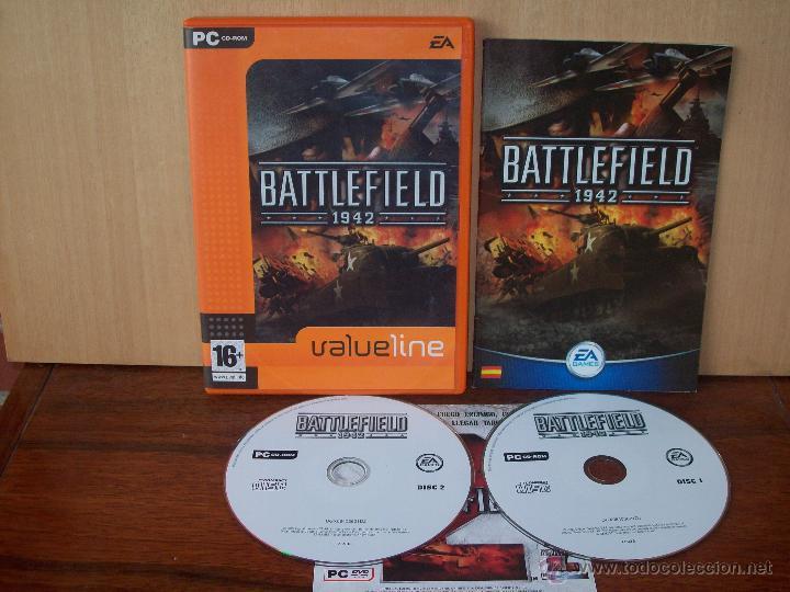 BATTLEFIELD 1942 - JUEGO PC MANUAL EN ESPAÑOL (Juguetes - Videojuegos y Consolas - PC)