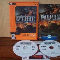 Videojuegos y Consolas: BATTLEFIELD 1942 - JUEGO PC MANUAL EN ESPAÑOL. Lote 51420540