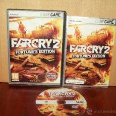 Videojuegos y Consolas: FARCRY 2 FORTUNE´S EDITION - JUEGO PC Y MANUAL TOTALMENTE EN CASTELLANO. Lote 51426401