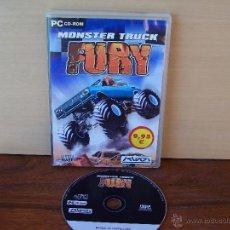 Videojuegos y Consolas: MONSTER TRUCK - FURY - JUEGO PC - MANUAL EN CASTELLANO EN EL CD. Lote 51528715
