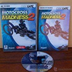 Videojuegos y Consolas: MOTOCROSS MADNESS 2 - JUEGO PC MANUAL EN CASTELLANO. Lote 51528992