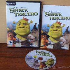 Videojuegos y Consolas: SHREK - TERCERO - JUEGO PC TOTALMENTE EN CASTELLANO. Lote 194634921