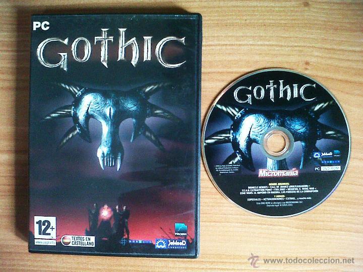 JUEGO PC 'GOTHIC'. (Juguetes - Videojuegos y Consolas - PC)