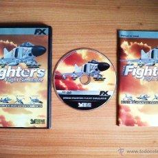 Videojuegos y Consolas: JUEGO PC 'STRIKE FIGHTERS FLIGHT SIMULATOR', TOTALMENTE EN CASTELLANO.. Lote 51626008