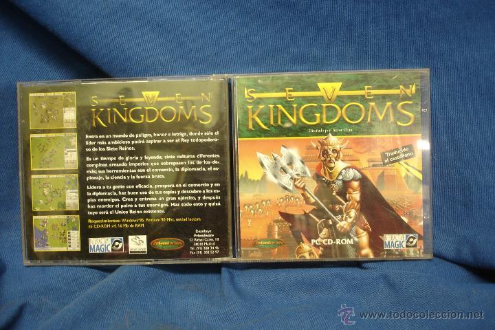 SEVEN KINGDOMS - PC CD-ROM (Juguetes - Videojuegos y Consolas - PC)