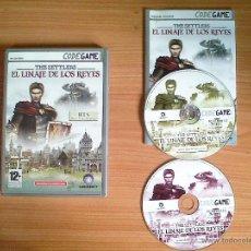 Videojuegos y Consolas: JUEGO PC 'THE SETTLERS, EL LINAJE DE LOS REYES', TOTALMENTE EN CASTELLANO.. Lote 51715634