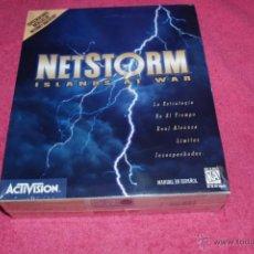Jeux Vidéo et Consoles: PC CD ROM ACTIVISION 1997 NETSTORM CAJA GRANDE NUEVO PRECINTADO VERSIÓN ESPAÑOLA.. Lote 51855961