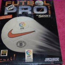 Videojuegos y Consolas: PC FUTBOL PRO 97-98 NUEVO A ESTRENAR PRECINTADO EN CASTELLANO.. Lote 51949568