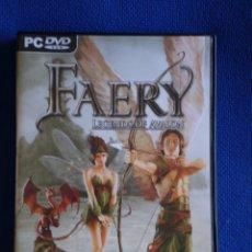 Videojuegos y Consolas: FAERY. Lote 52459002