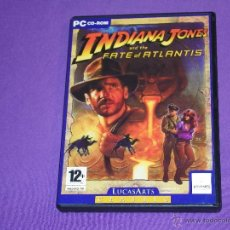 Videojuegos y Consolas: INDIANA JONES AND THE FATE OF ATLANTIS - PC - LUCASARTS CLASSIC. Lote 52467848