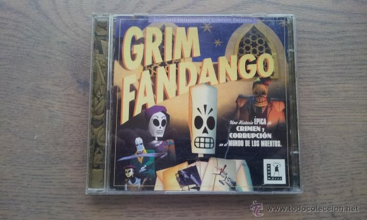 Grim Fandango Juego Pc Windows 95 98 Lucasa Comprar