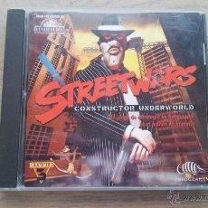 Videojuegos y Consolas: STREETWARS CONSTRUCTOR UNDERWORLD - JUEGO PC - INFOGRAMES - STUDIO 3. Lote 52484786