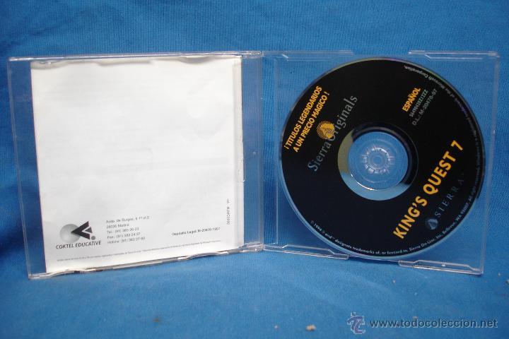 Videojuegos y Consolas: KING QUEST - SIERRA ORIGINALS - JUEGO PARA PC - Foto 2 - 52543799