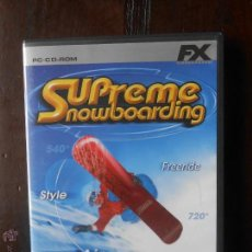 Videojuegos y Consolas - PC SUPREME SNOWBOARDING (4S) - 52571298