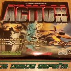 Videojogos e Consolas: MULTI ACTION '99 - PC - 1999 (BROKEN SWORD - COMMAND & CONQUER - F22). Lote 52747100