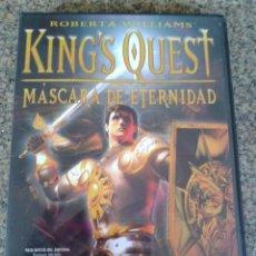 Videojuegos y Consolas: JUEGO DE PC -- KING,S QUEST, MASCARA DE ETERNIDAD -- . Lote 52864495