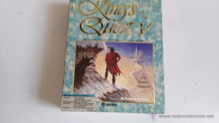 JUEGO PARA PC CAJA GRANDE DE CARTON KINGS QUEST V (Juguetes - Videojuegos y Consolas - PC)